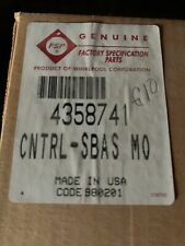 WHIRLPOOL MICROWAVE CONTROL PANEL PART# 4358741 New In Box Free Shipping