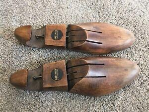 Vintage Hastings of San Francisco Wooden Shoe Stretchers Sz Men's 11-13