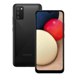 Samsung Galaxy A02s SM-A025G/DSN - 32GB - Black (Unlocked) (Dual SIM)