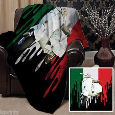 peinture GOUTTE DRAPEAU ITALIEN Trottinette design polaire Doux Couverture