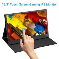 "Eyoyo 13.3""Inch Touchscreen IPS HDMI Monitor Display Screen 1920x1080 For Gaming"