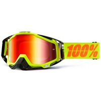100% Racecraft Goggles - Neon Sign Mirror Lens