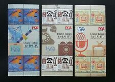 Malaysia 150th Anniv. Of ITU 2015 Satellite Telecoms (stamp with title) MNH