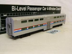 Kato HO Amtrak Bi-Level Passenger 4 Window Coach 35-6031