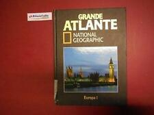 F 7.661 LIBRO GRANDE ATLANTE NATIONAL GEOGRAPHIC EUROPA 1