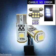 KIT 4 AMPOULE LED SMD PLAQUE + VEILLEUSE CANBUS VW GOLF 5 TDI R32 GTI 90 105 140