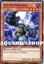 Yu-Gi-Oh! Golem Gogogo  SP13-IT003 Zexal Fortissima Carta di Yuma Zexal Nuovo