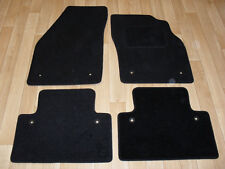 Volvo S40 (2004-on) Fully Tailored Car Mats Black with Volvo fixings.