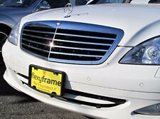 A NASA-like Rubber License Plate Bracket Frame Holder Guard Bumper for MERCEDES