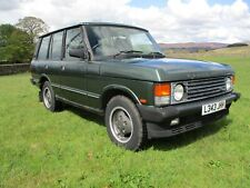 1993 Range Rover Classic 3.9 V8 Efi Vogue. One Owner From New, Genuine 92,000 M