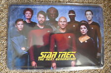 Star Trek Next Generation *Design Tin Metal Sign Painted Poster Comics Book Wall