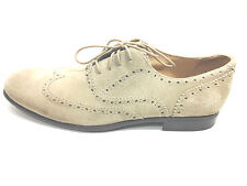 John Varvatos Classic Wing Tip Suede Shoes Size 11.5 US