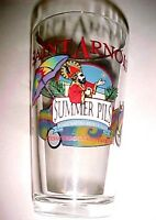 "Saint Arnold Craft Brewery Texas Summer Pils Tie Dye 6"" Tall Pint Beer Glass"