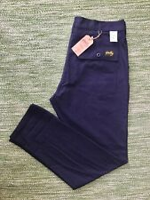 Stan Ray navy ripstop cotton tapered fatigues (#1265) W36 L34 BNWT Stanray