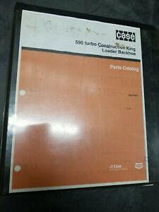 Case 590 Turbo Construction King Loader Backhoe Parts Catalog