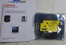 New surplus Toshiba Netpac-2-4F wireless system connector Netpac