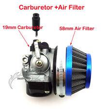 Carby Carburetor Filter 49cc 50 60 66 80 cc 2 Stroke Gas Motorized Bike Bicycle