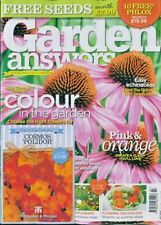 Garden Answers Magazine Issue September 2018 With 4 X Packs of Seeds
