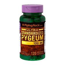 Pygeum  100 mg 120 Cápsulas - Estandarizado 12,5% Phytoesteroles