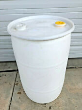 30 Gallon Plastic barrel barrels drum drums HDPE #2