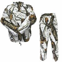 [NEW] Mossy Oak Waterproof Hunting Jacket & Pants | Winter Break Up Camouflage