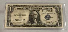 1935  $1 DOLLAR BILL SILVER CERTIFICATE BLUE SEAL NOTE