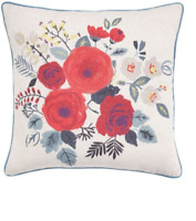 New Heart of House Floral Print Large 43 x 43cm Cushion Scatter Square Flowers