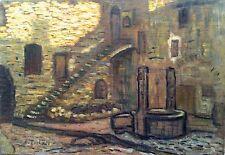Alfred Lesbros, Vileuneuve-lès-Avignon, Groupe des Treize, Huile sur toile v71