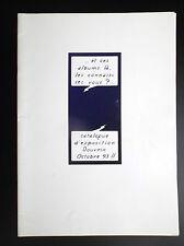 Rare Catalogue exposition Douvrin 1993 Tintin et les faussaires TBE
