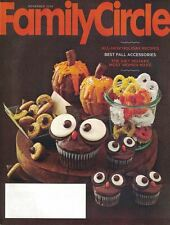 Family Circle Nov 2014 Holiday Recipes, OWL CUPCAKES, Diet Mistakes & More
