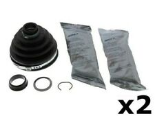 AUDI VW 100 90 A4 A6 QUATTRO 1992-2005 Axle Boot Kit FRONT L and R OUTER