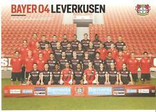 Mannschaftskarte Mannschaftsbild Bayer 04 Leverkusen 2016/17
