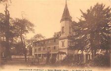 Saint-Mandé - Institution POINTEAU - le jardin et la cour