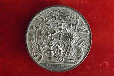 *Stadt Breslau Zinn-Medaille 1878* Gartenba -Landwirtschaft Ausstellung (KOF1)