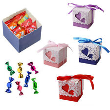 Luxury Wedding Boxes Favour Favor Sweet Cake Gift Candy Boxes Table Decor Boxes