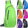 Men Chest Pack Crossbody Bag Sling Shoulder Bags Sport Travel Waterproof Handbag