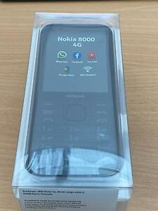 Nokia 8000 4G - 4GB - Black Unlocked DUAL SIM BOXED NEW + WHATSAPP!!!