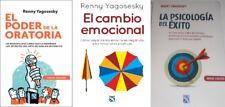 El Poder de la Oratoria, El Cambio Emocional, La Psicologia del Exito  Yagosesky
