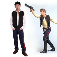 Han Solo Hope Cosplay Costume Sets Stripes Pants / Vest / Suit Star Wars Cosplay