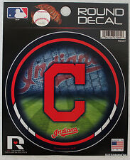 "Cleveland Indians MLB Decal Car Window 4.5"" Sticker Baseball Licensed Sports"