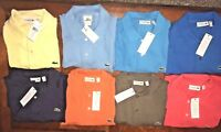 NEW MENS LACOSTE SHORT SLEEVE CLASSIC COTTON PIQUE POLO SHIRT Sz XL XXL 3XL 4XL