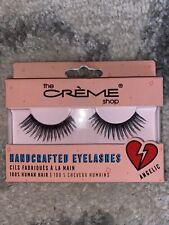 The Creme Shop False Eyelashes 100% Human Hair Reusable False Handcraft Angelic