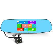 Auto Specchietto Retrovisore Monitor DVR Dashcam Android con Google Mappe GPS
