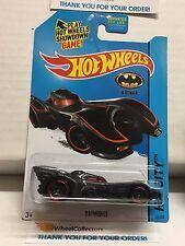 Batmobile #62 * Black w/ red Tampo * 2013 Hot Wheels * NA3