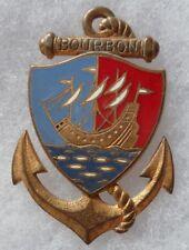Insigne TDM Troupes de Marine COMPAGNIE DE BOURBON La Réunion ORIGINAL DRAGO 735