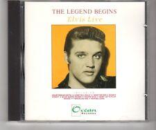 (HQ130) The Legend Begins, Elvis Live - 1989 CD
