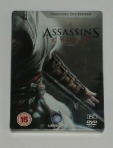Assassins Creed Directors Cut Edition Limited Steelbook PC G1 Director's Rare UK