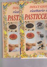 DOLCI GIOIE - RICETTARIO DI PASTICCERIA demetra ricette dolci COFANETTO