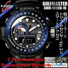 G-SHOCK GULFMASTER WATCH GWN-1000B-1B FREE EXPRESS CASIO MENS GWN-1000B-1BDR