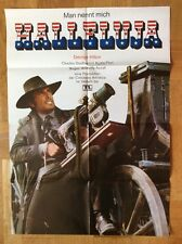 Man nennt mich Halleluja (Kinoplakat '72) - George Hilton / Charles Southwood